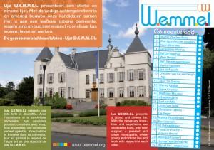 Beeld flyer Lijst W.E.M.M.E.L