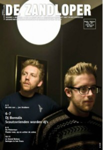 zandloperkrant maart 2013 cover