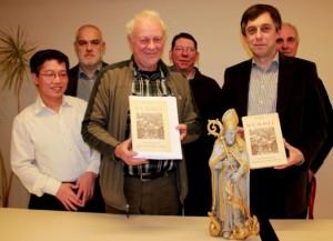 parochie boek 350 jaar